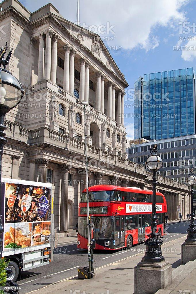 Bank of England. London stock photo