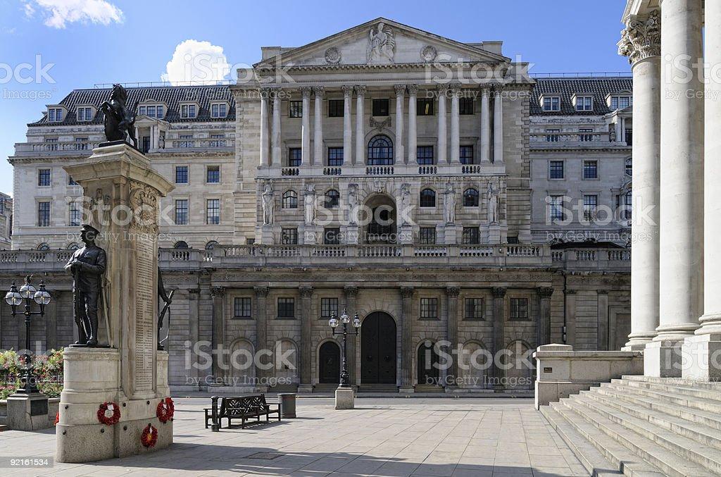 Bank of England, London, UK, Europe stock photo