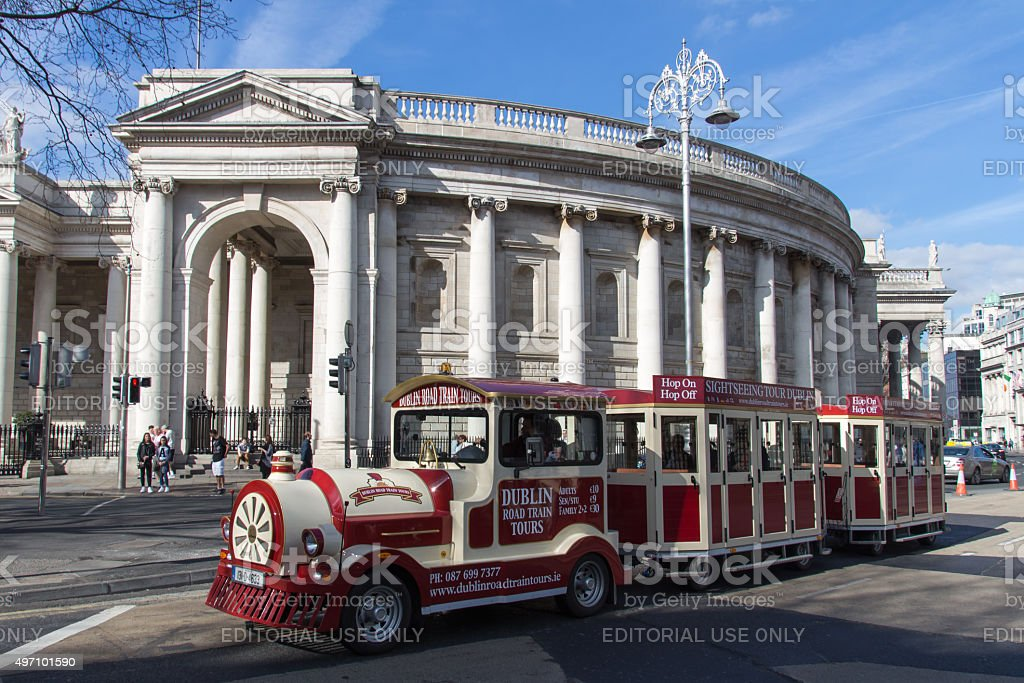 Bank of Ireland in Dublin, 2015 stock photo