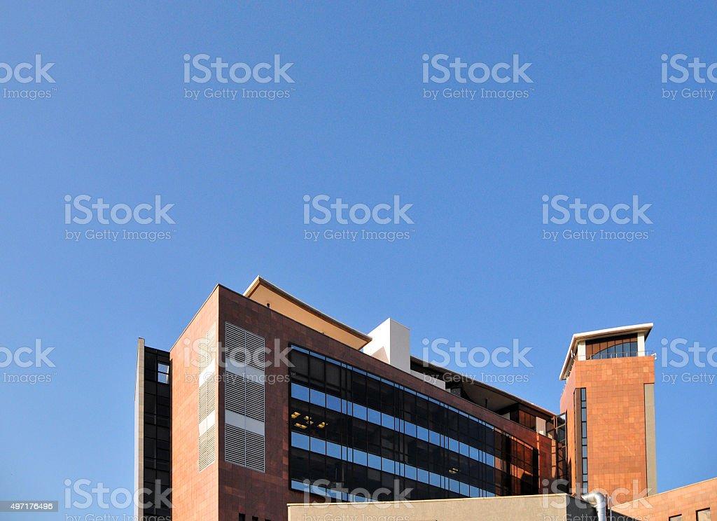 Bank of Namibia building, Windhoek stock photo