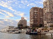 Bank of the Nile in Cairo