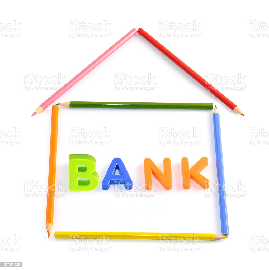 Bank Owned House stock photo