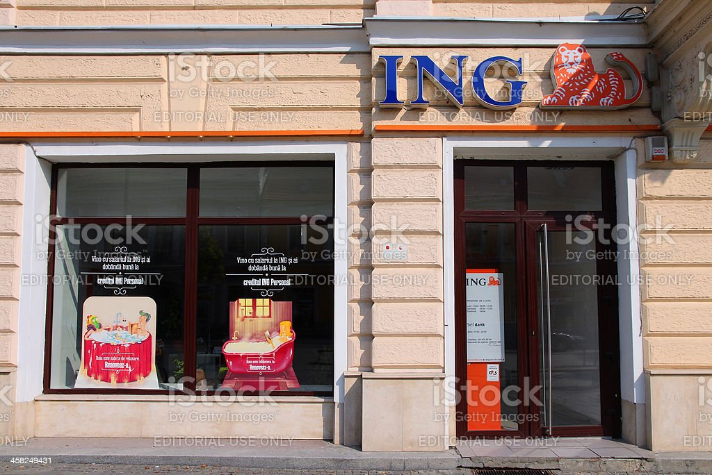 ING Bank royalty-free stock photo