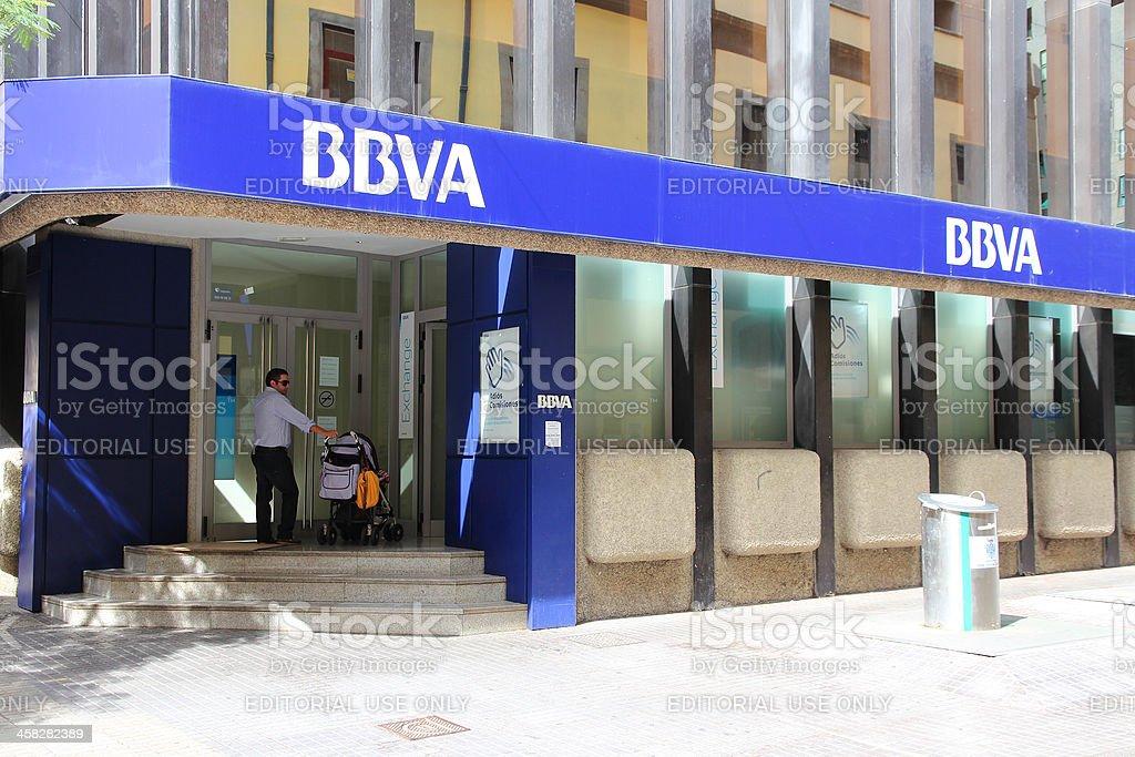 BBVA bank stock photo