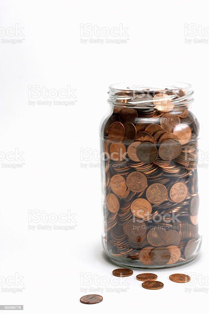 Bank ( Penny Jar ) royalty-free stock photo