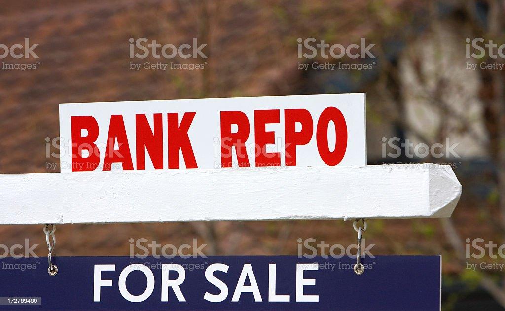 bank repo stock photo