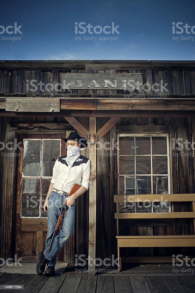 Bank Robber / Bandit royalty-free stock photo