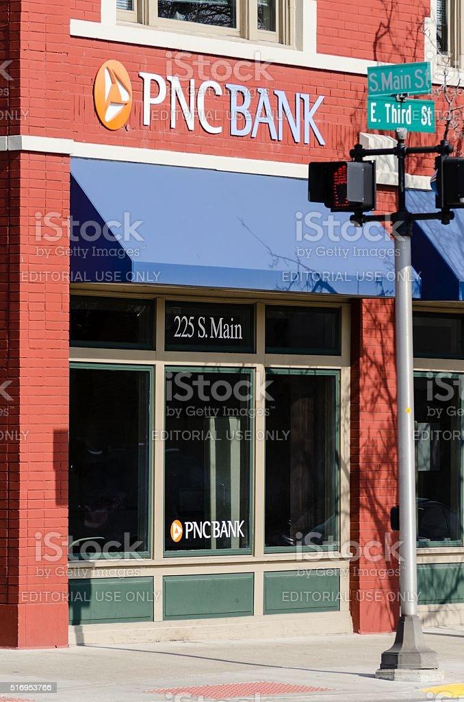 PNC Bank Royal Oak, Michigan stock photo