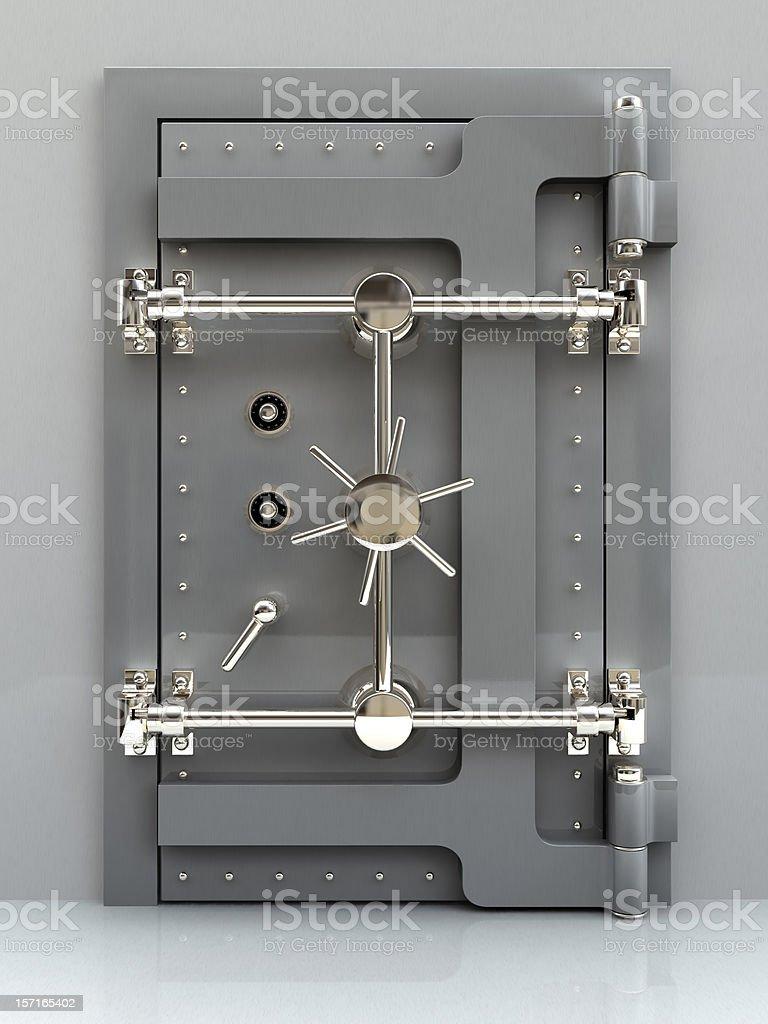 Bank Vault 02 stock photo