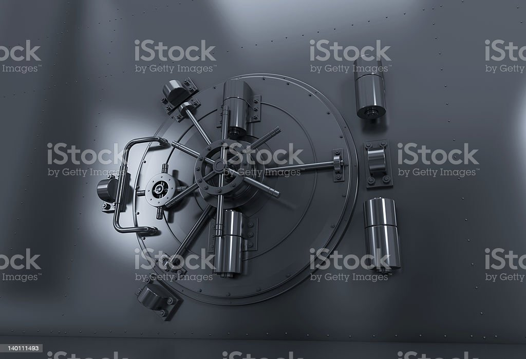 Bank Vault royalty-free stock photo