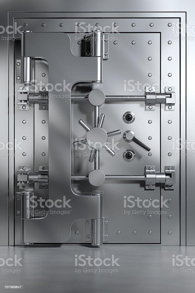 Bank Vault stock photo