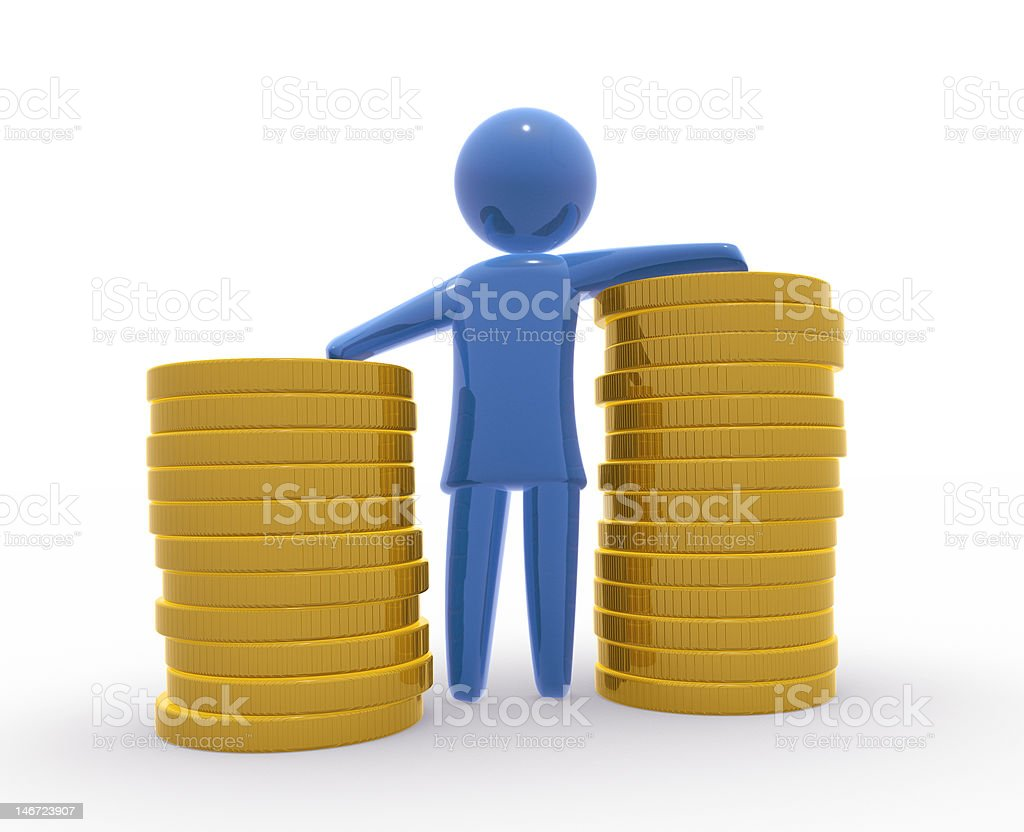 Banker royalty-free stock photo