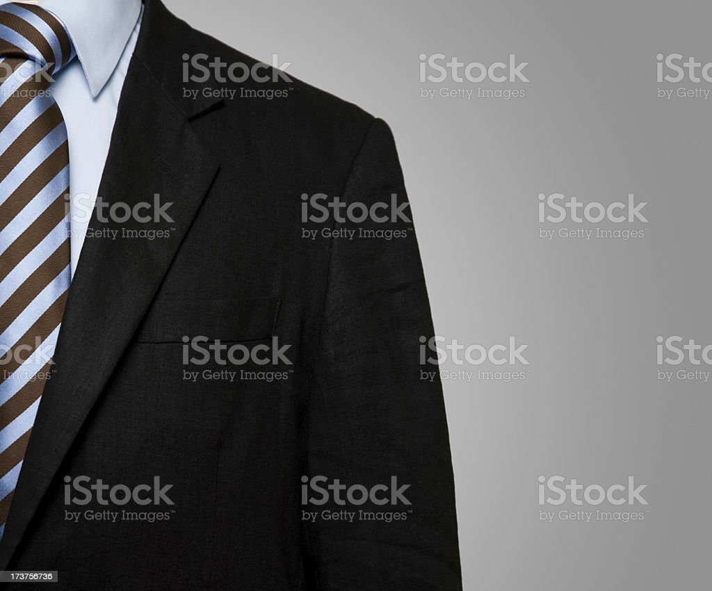 Banker Suit royalty-free stock photo