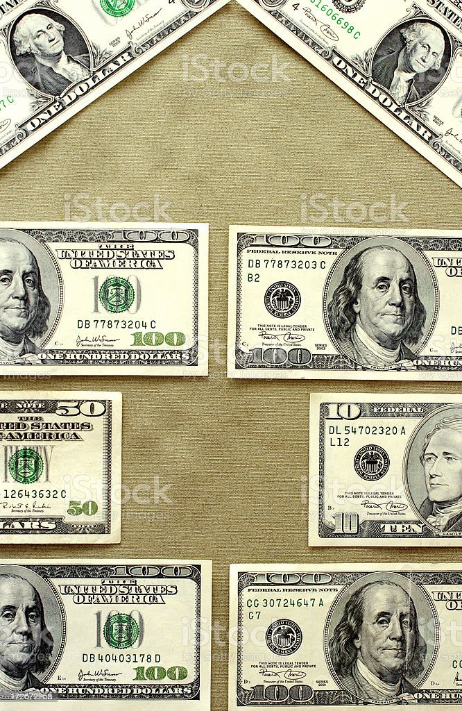 Banker's house royalty-free stock photo