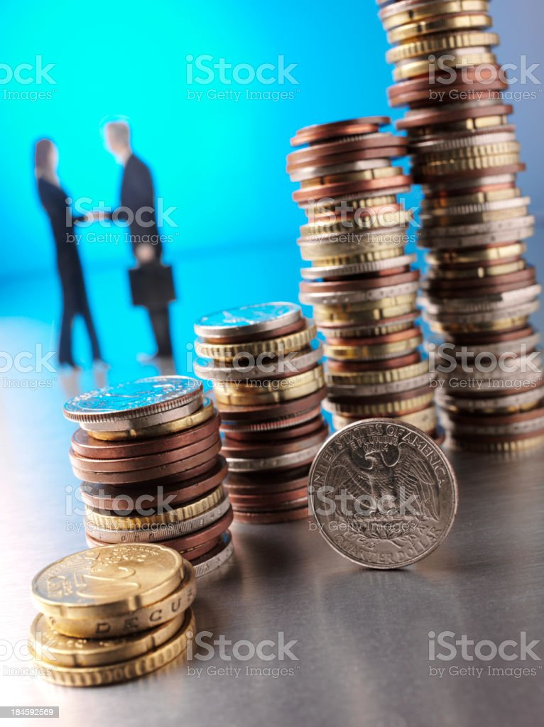 Banking Business royalty-free stock photo
