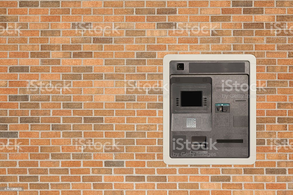 ATM Banking Machine royalty-free stock photo