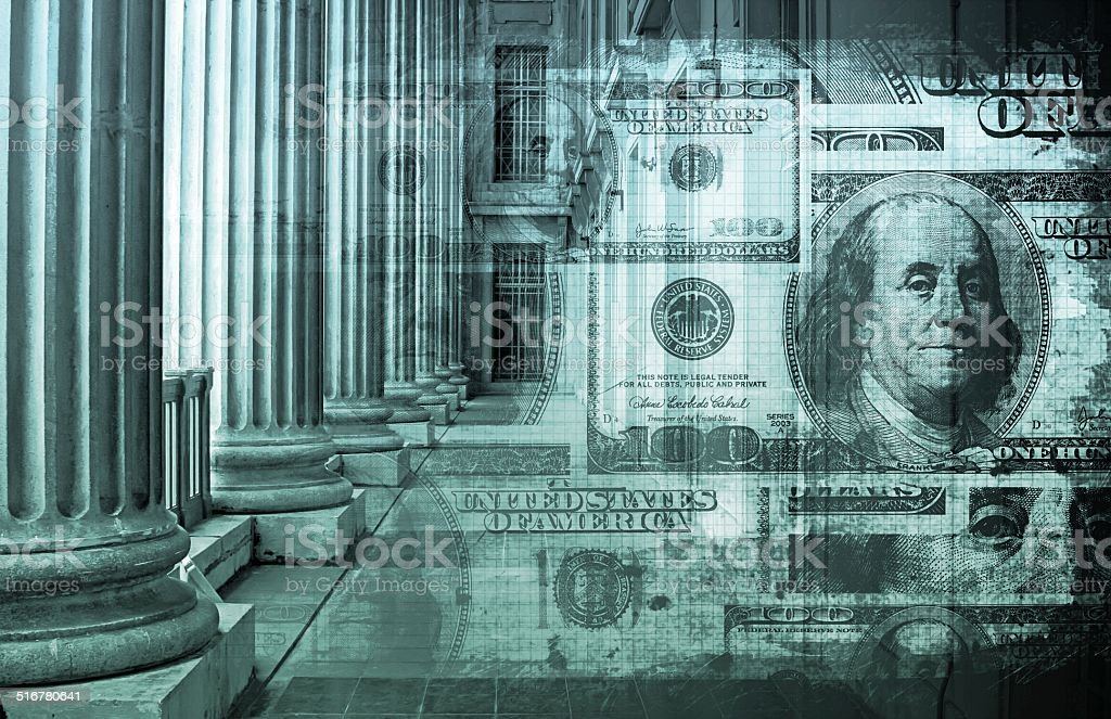 Banking System stock photo