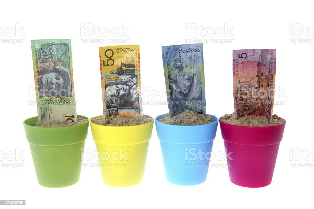 Banknote Growth royalty-free stock photo