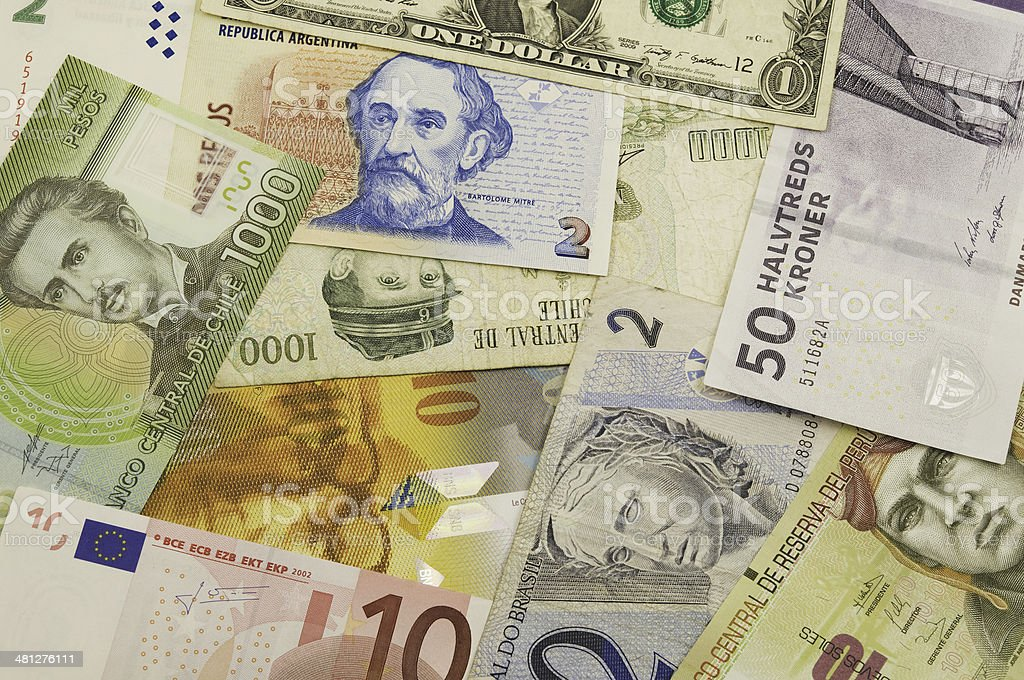 banknotes. stock photo