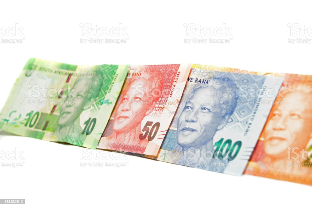 Banknotes South-Africa stock photo