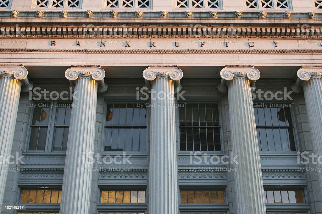 Bankruptcy Court Courthouse, Dayton, Ohio stock photo