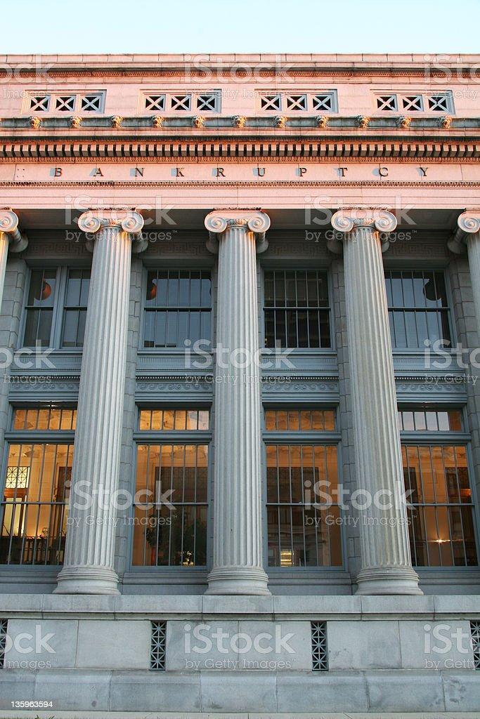 Bankruptcy Court V, Courthouse, Dayton, Ohio stock photo