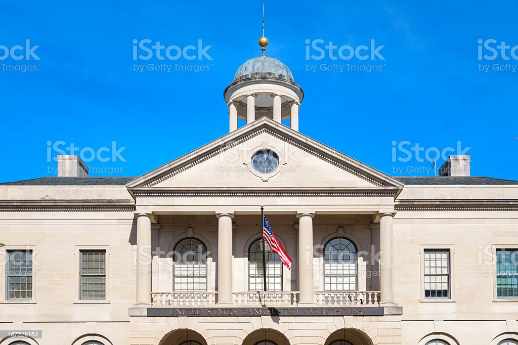 Bankruptcy Courthouse Tallahassee Florida USA stock photo