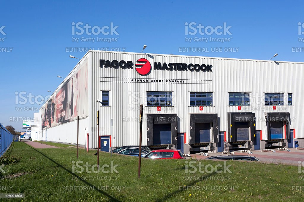 Bankruptcy Fagor Group royalty-free stock photo