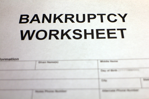 Worksheet Bankruptcy Worksheet pictures images and stock photos istock bankruptcy worksheet header photo