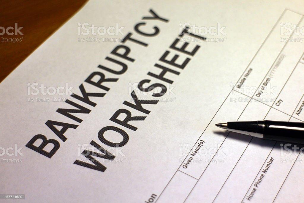 Worksheet Photos Getadating – Bankruptcy Worksheet