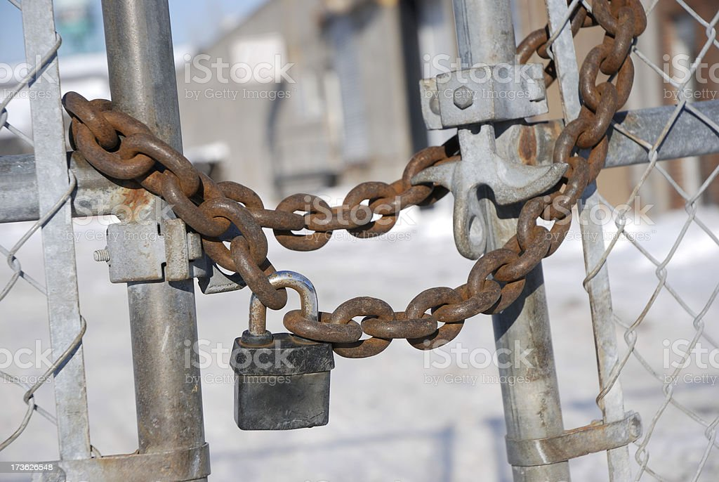 Bankruptcy,out of business..... royalty-free stock photo