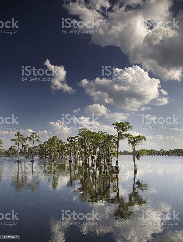 Banks Lake royalty-free stock photo