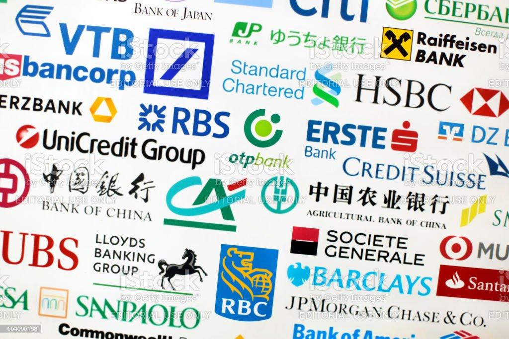 Banks stock photo