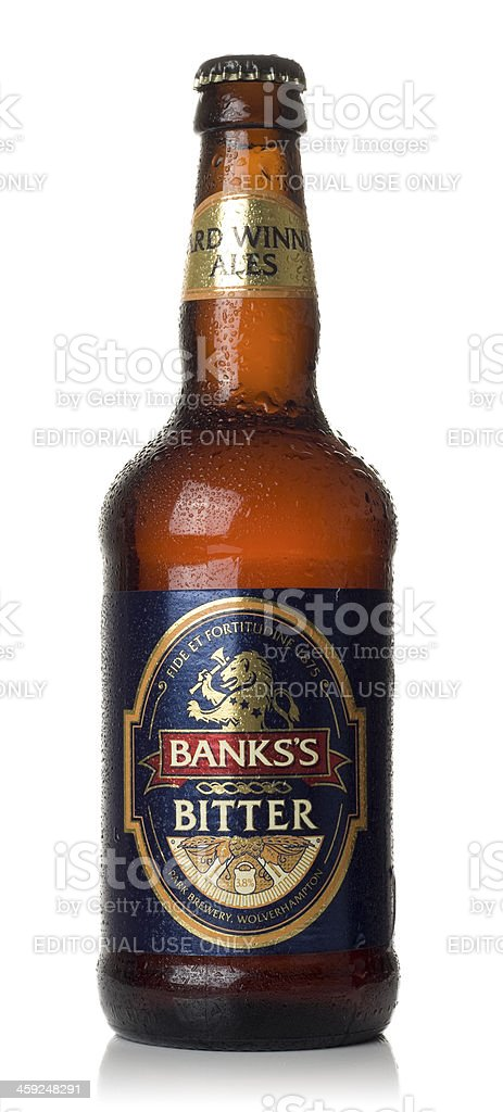 Banks's Bitter stock photo