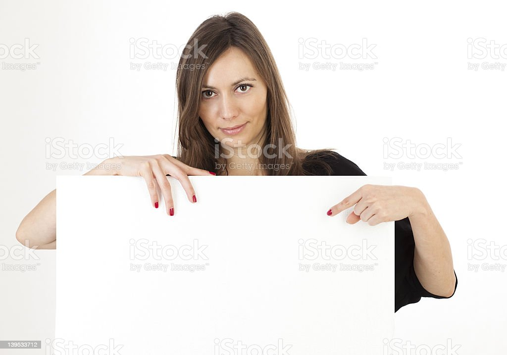 banner add royalty-free stock photo