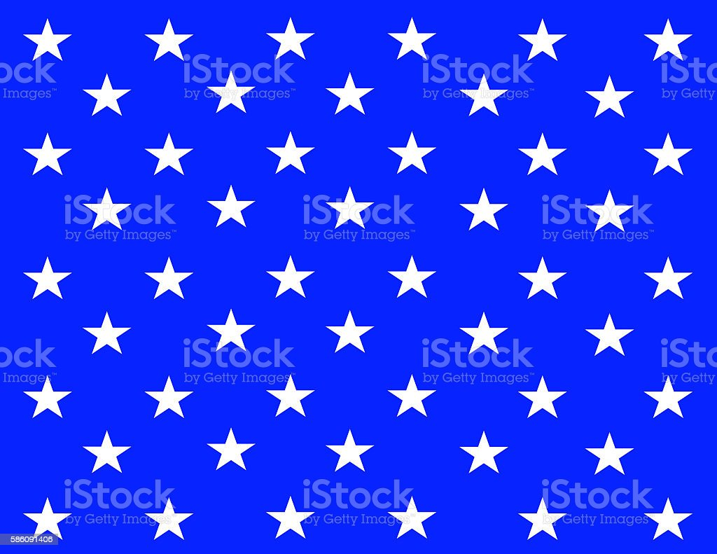 banner of the United States of America stock photo