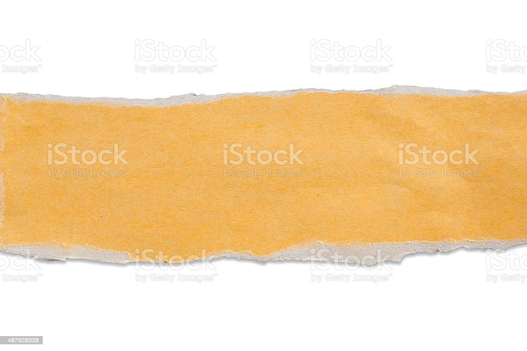 banner torn paper stock photo