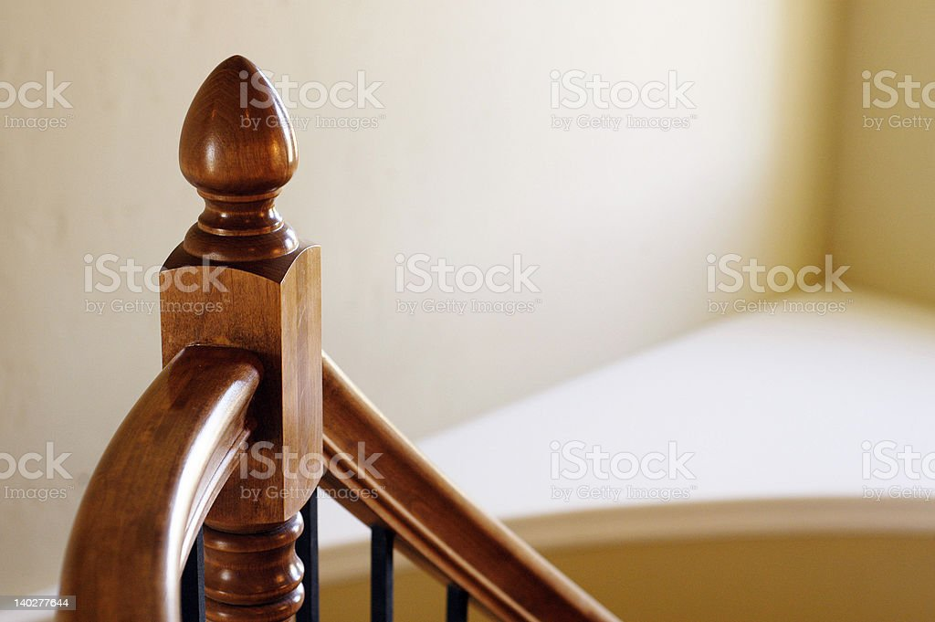 Bannister royalty-free stock photo
