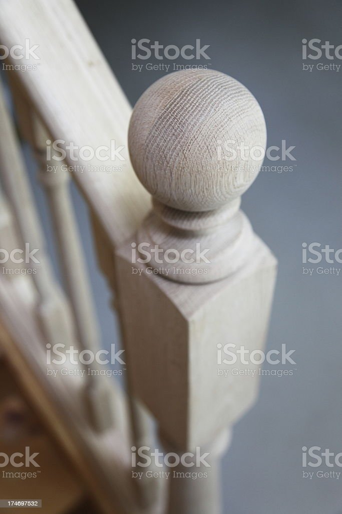 Bannister Post royalty-free stock photo