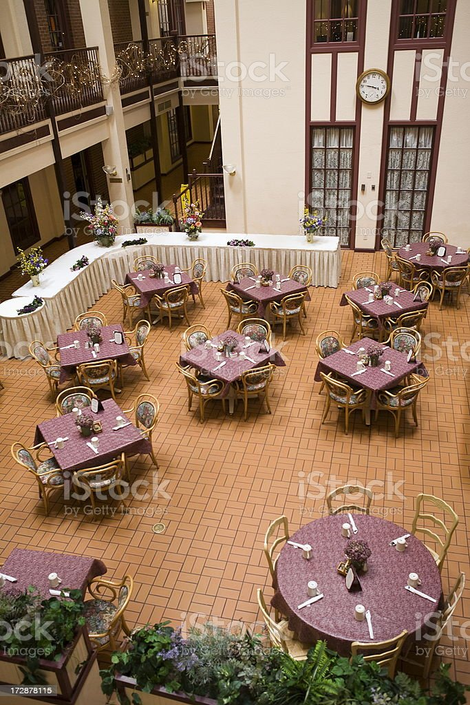 Banquet Hall royalty-free stock photo
