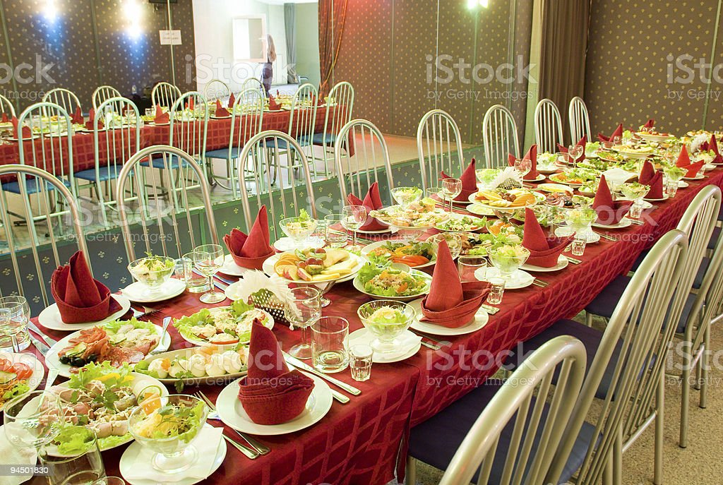 banquet royalty-free stock photo