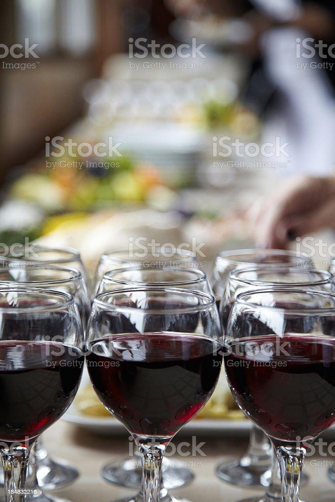 Banquet. XXXL royalty-free stock photo