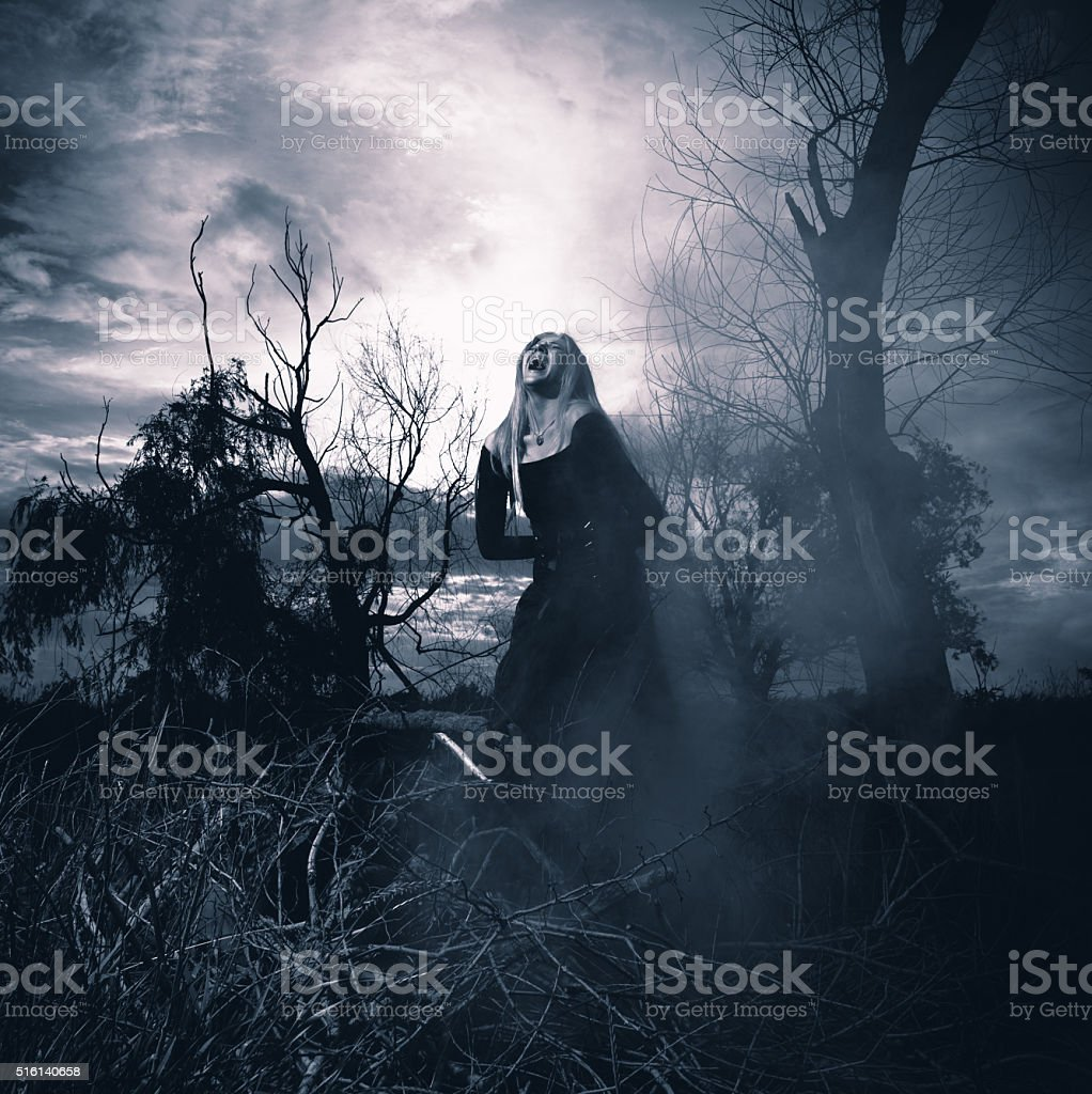 Banshee stock photo