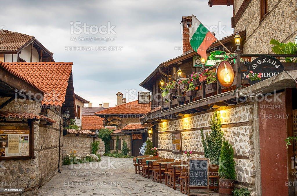 Bansko,Bulgaria royalty-free stock photo