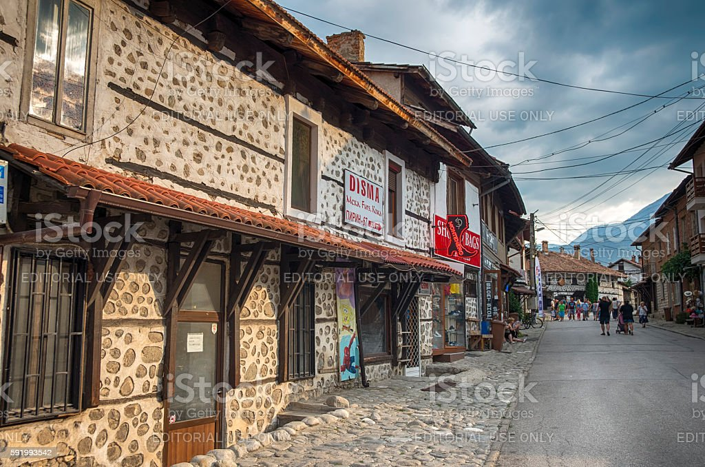 Bansko,Bulgaria royalty-free stock photo