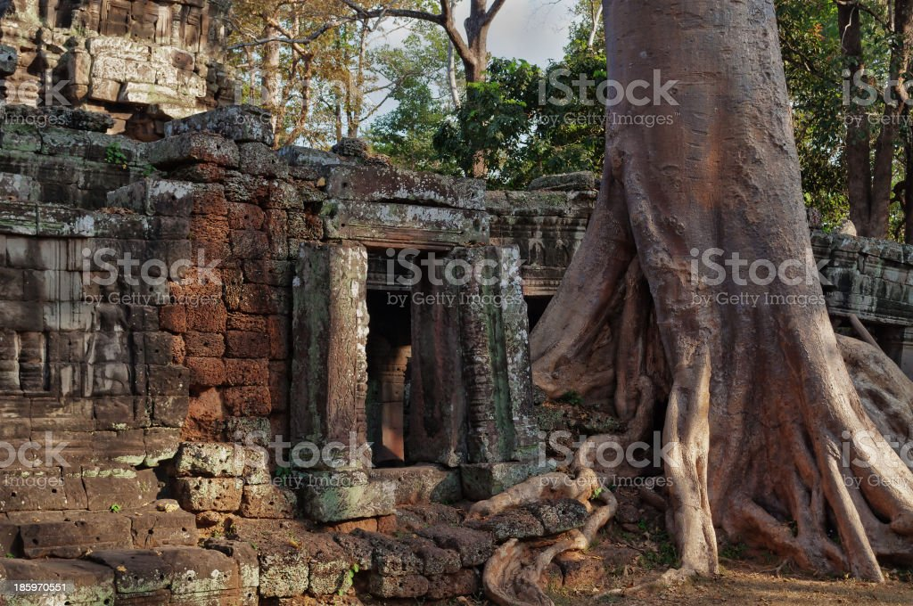 Banteay Kdei temple.Angkor. Siem Reap. Cambodia royalty-free stock photo