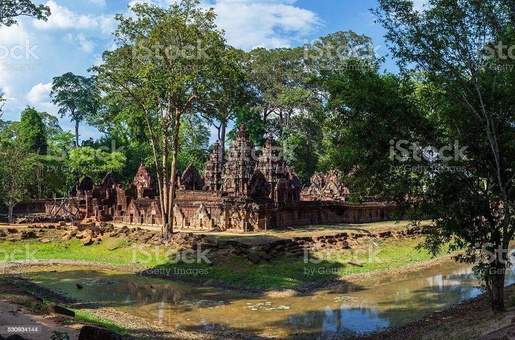 Banteay Srei or Lady Temple stock photo