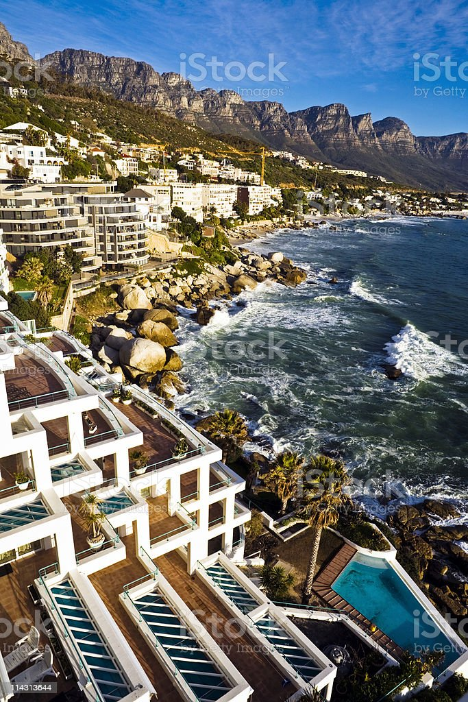 Bantry Bay / Clifton, Cape Town royalty-free stock photo