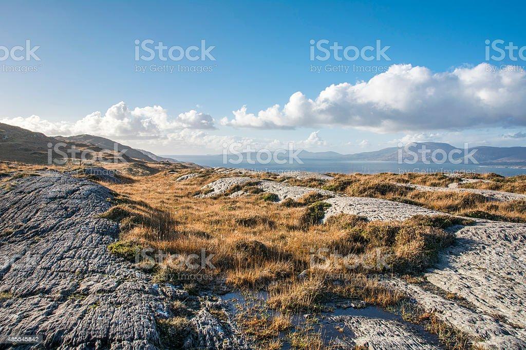 Bantry Bay in Winter stock photo