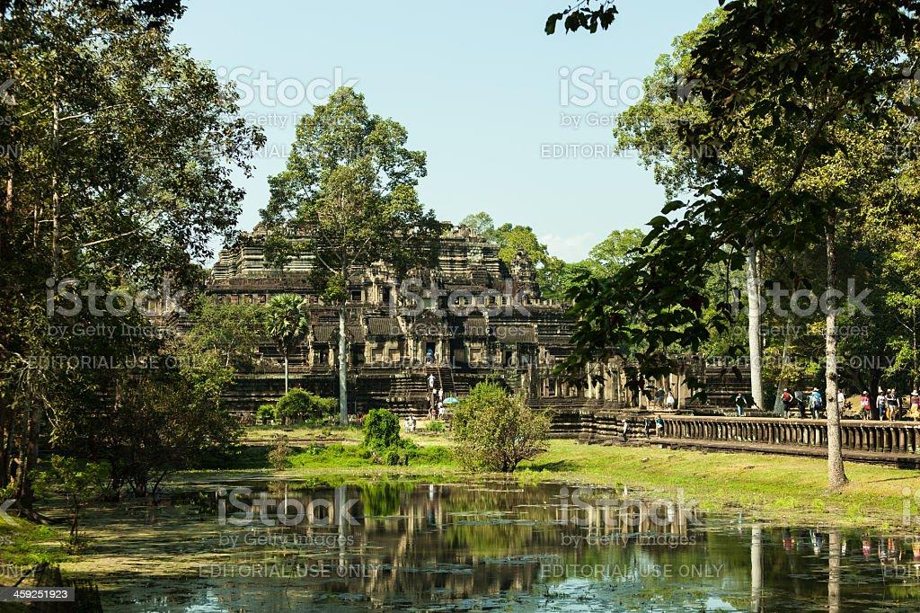Baphuon temple, Angkor, Cambodia royalty-free stock photo